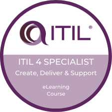 ITIL 4 Create Deliver Support eLearning Logo